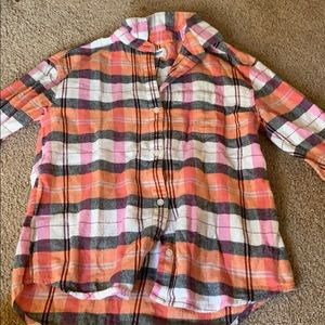 Plaid flannel from old navy!